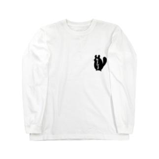 """チンチラ""""MOF MOF"""" Long sleeve T-shirts"""