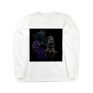 ネオクロキ Long sleeve T-shirts