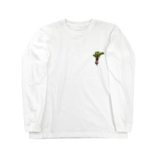かぶちゃん その2|切り抜き Long sleeve T-shirts