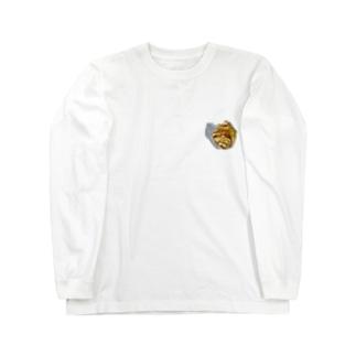 シナモンロール|切り抜き Long sleeve T-shirts