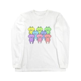 うーさ。 Long sleeve T-shirts