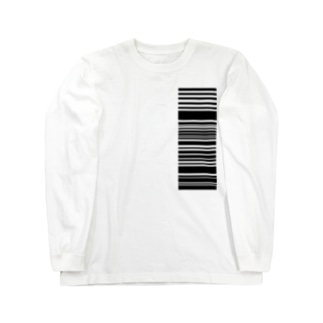 読み取って下さい、の精神。(black) Long sleeve T-shirts