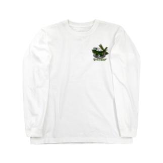 10周年記念グッズ(10)戦車 Long sleeve T-shirts