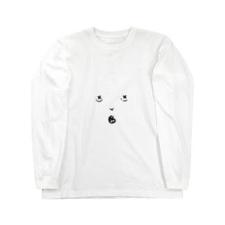 かおかおくん Long sleeve T-shirts