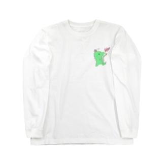恐竜のきぃくん Long sleeve T-shirts