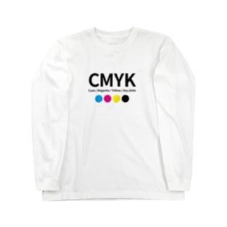 CMYKグッズ Long sleeve T-shirts