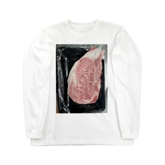 国産霜降りWAGYU Long sleeve T-shirts