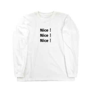 Nice!Nice!Nice! Long sleeve T-shirts