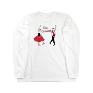 バレエ「ドン・キホーテ」 Long sleeve T-shirts