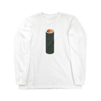 巻き寿司タイ Long sleeve T-shirts