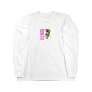 CRAFTBEER&OBANZAI LITTLE BIRD Long sleeve T-shirts