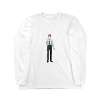 イケメンシリーズvol.7(カラー/small) Long sleeve T-shirts
