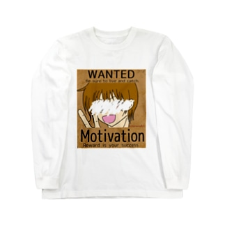 WANTED Motivation Long sleeve T-shirts