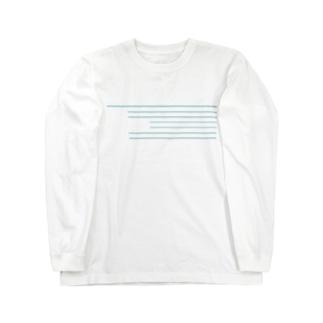 この線、どの線? Long sleeve T-shirts