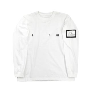 「1-0 > 100-1(ゼロトイチヨリモヒャクトイチノホウガチカイ)」 by FIN HEUREUSE Long sleeve T-shirts