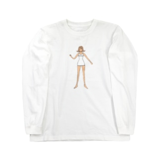 Art Dress プリT-girl 長袖 Big  Long sleeve T-shirts