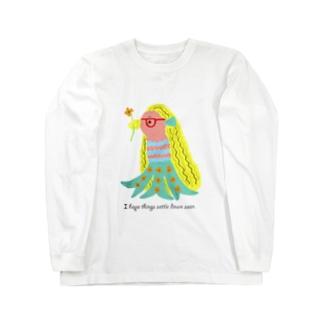 アマビエちゃん Long sleeve T-shirts