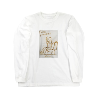トイレスマホ~偽りの楽園② Long sleeve T-shirts