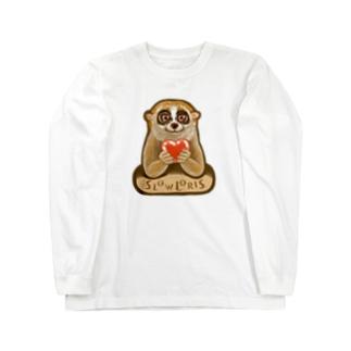 スローロリス SLOW LORIS Long sleeve T-shirts