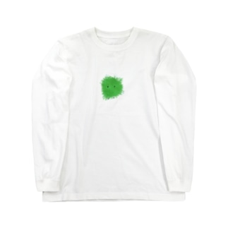 もさもさ緑さん Long sleeve T-shirts