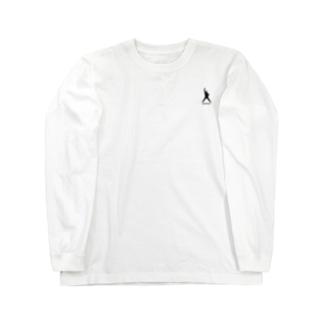 OHIRAKI silhouette グッズ Long sleeve T-shirts