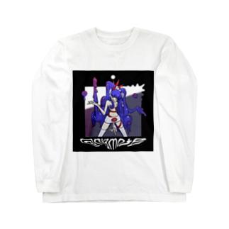 deathNékawa series KK Long sleeve T-shirts