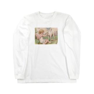 天使④ Long sleeve T-shirts