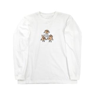 MITSUDOMOE Long sleeve T-shirts
