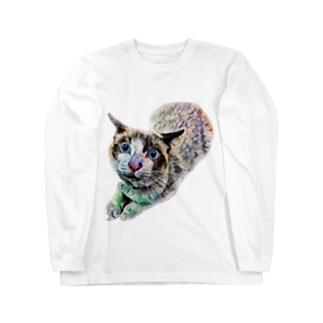 にゃじろうグッズ(石) Long Sleeve T-Shirt