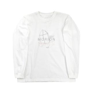 """モリオン(黒水晶) """"ラインイラストVer."""" Long Sleeve T-Shirt"""