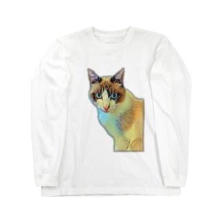 にゃじろう(警備員) Long Sleeve T-Shirt