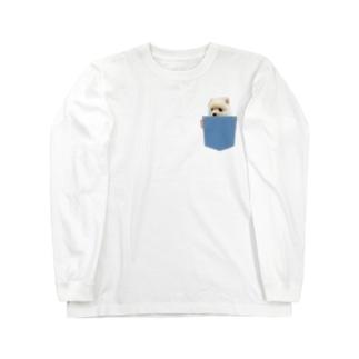 ポメラニアンのポメくん Long Sleeve T-Shirt