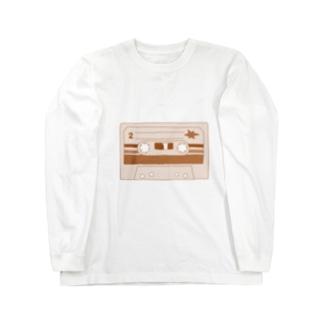 録音しちゃう? Long sleeve T-shirts