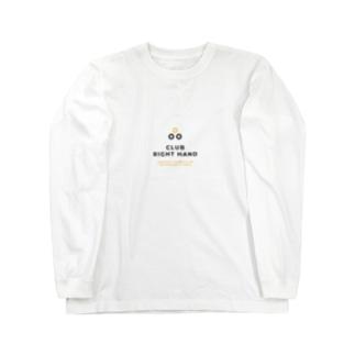 Club Right Handのアイテムたち Long sleeve T-shirts