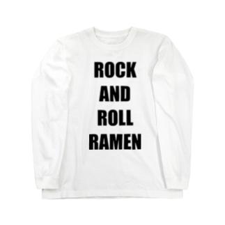 ROCK AND ROLL RAMEN Long sleeve T-shirts