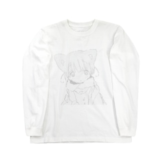 つめたいねこAA Long sleeve T-shirts