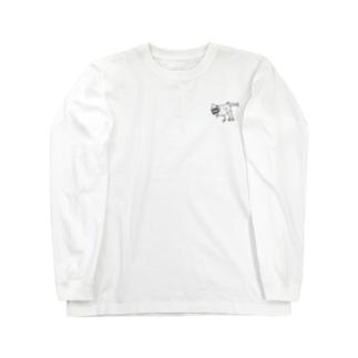 ティラシャーク Long sleeve T-shirts