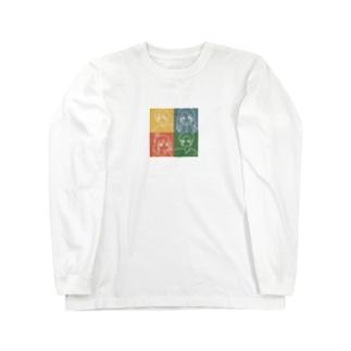 気だるげ四銃士 Long sleeve T-shirts