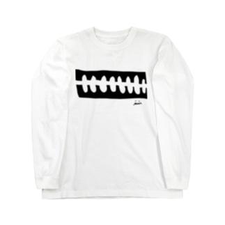 骨々mono Long sleeve T-shirts