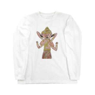 恵方巻きのジレンマ〜阿修羅〜 Long sleeve T-shirts
