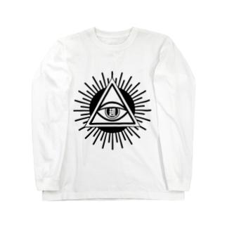 趣ミナティMONO Long sleeve T-shirts