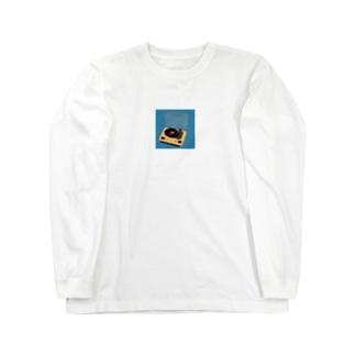 憧れのレコード Long sleeve T-shirts