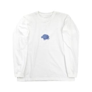 川に流される羊 Long Sleeve T-Shirt