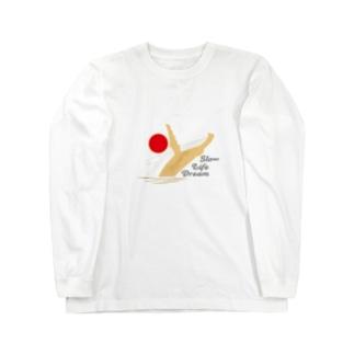 スローライフドリーム~クジラ~ Long sleeve T-shirts
