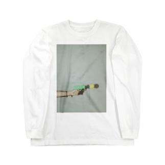 嫁の手 Long sleeve T-shirts