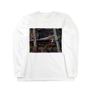 高校時代使ってた駐輪場 Long sleeve T-shirts