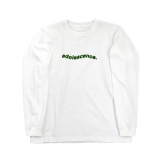 セイシュンミドリ Long sleeve T-shirts