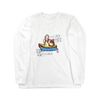 小幡人形 カチカチ山(滋賀) Long Sleeve T-Shirt