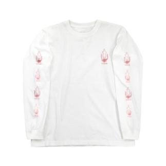 ケンサキイカ&ヤリイカグッズ Long sleeve T-shirts