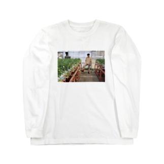 いちご狩りにいこう。 Long sleeve T-shirts